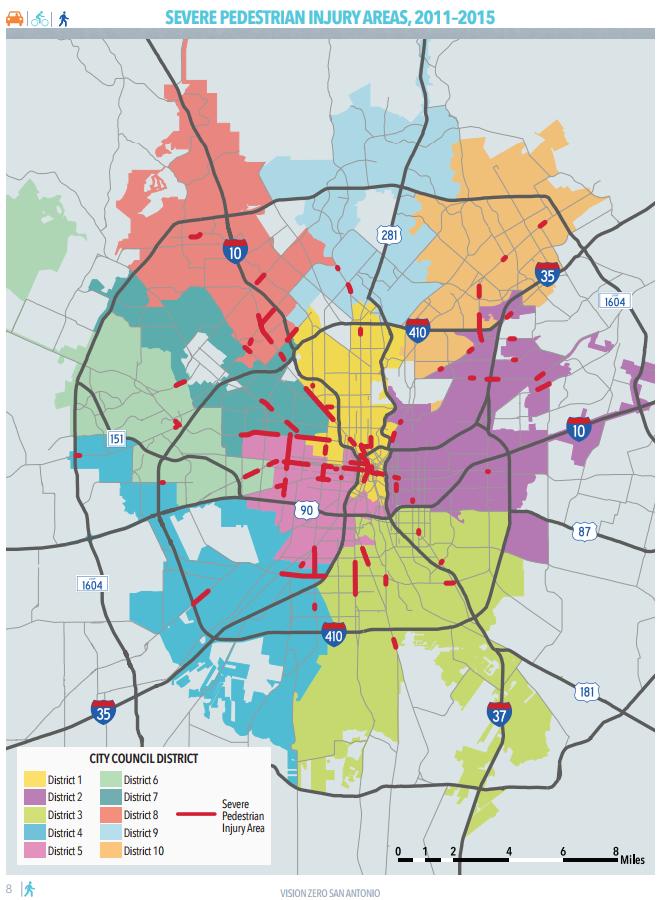 City Of San Antonio Zoning Map How San Antonio is Responding to its Shocking Pedestrian Fatality
