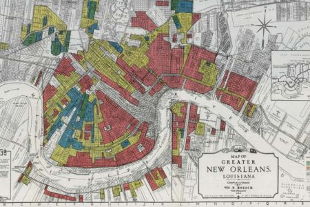 redlining map of new orleans housing